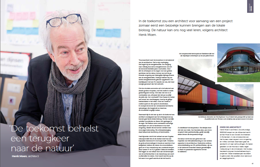 Interview over visie architect inspiratiemagazine